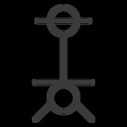 Wand staff circle stroke