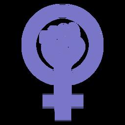 Icono del día de la mujer