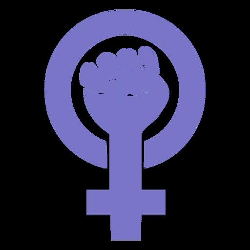 Icono del día de la mujer Transparent PNG