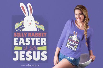 Ostern ist für Jesus T-Shirt Design