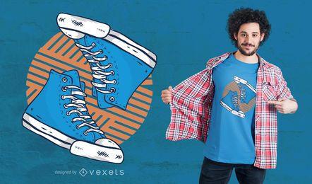 Snickers camiseta de diseño