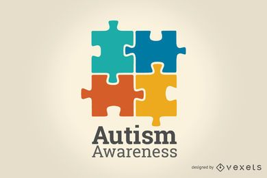 Ilustración de la conciencia del autismo