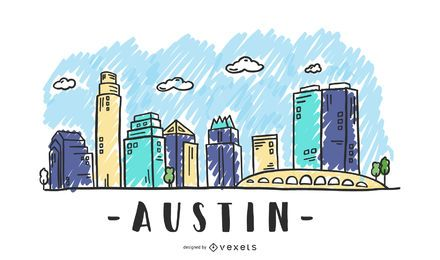 Austin, Texas Skyline Design