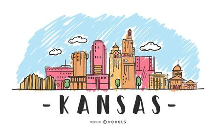 Kansas Skyline Design
