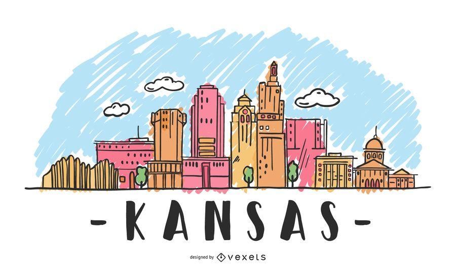 Kansas Skyline Design
