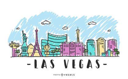 Las Vegas-Skyline-Abbildung