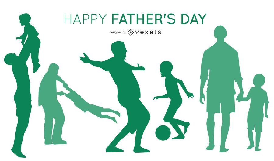 Father's Day Silhouette