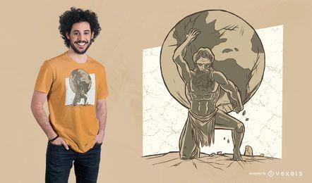 Diseño de camiseta Atlas