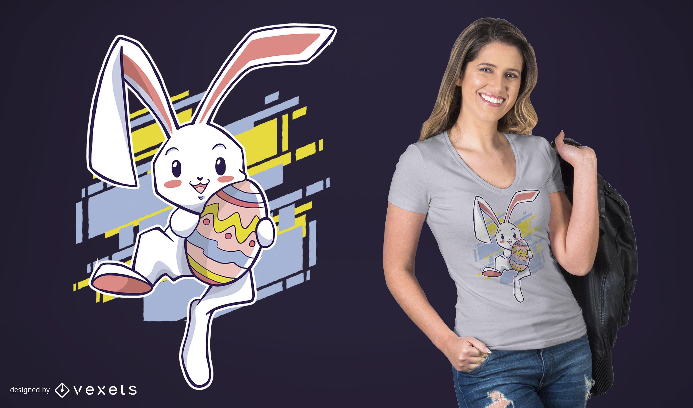 Easter Rabbit T-Shirt Design
