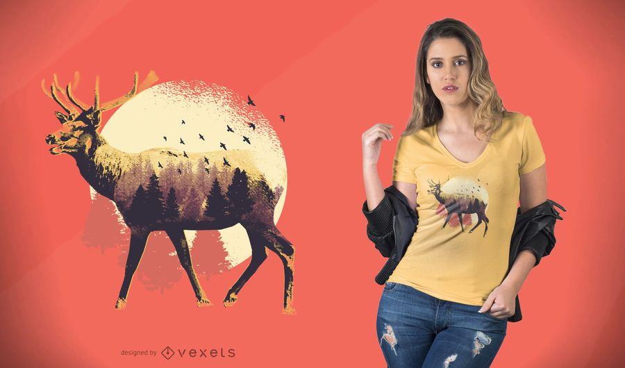 Moose T-Shirt Design