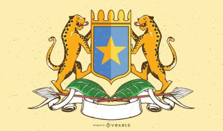 Somalia Wappen