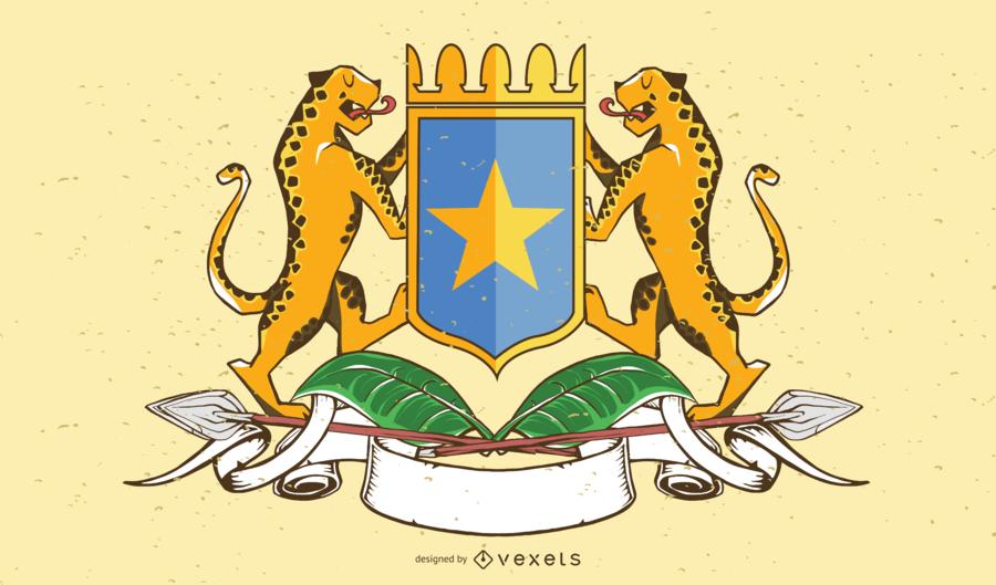 Brasão de Somália