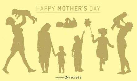 Muttertag-Illustration