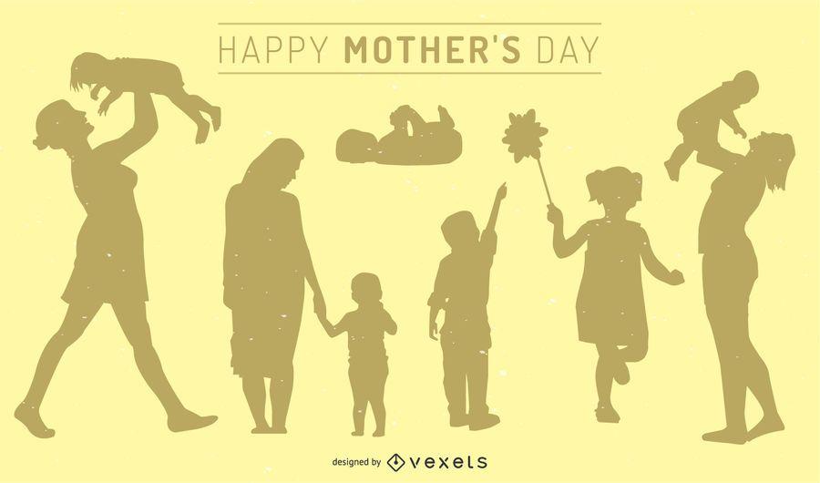 Mom's Day Illustration
