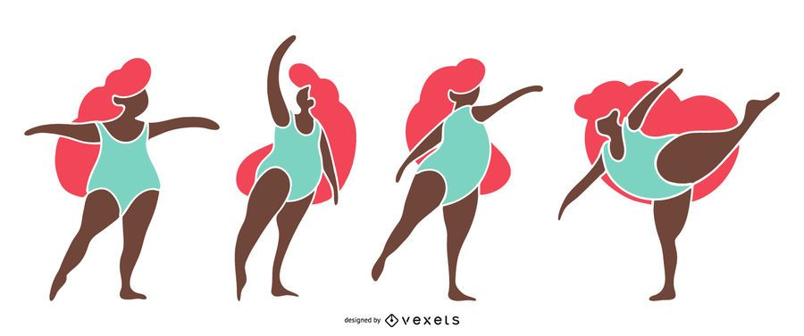 Ballet plantea silueta diseño