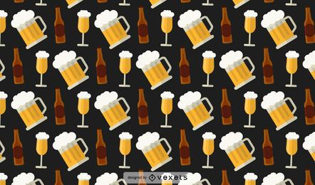Beer Bottles Pattern