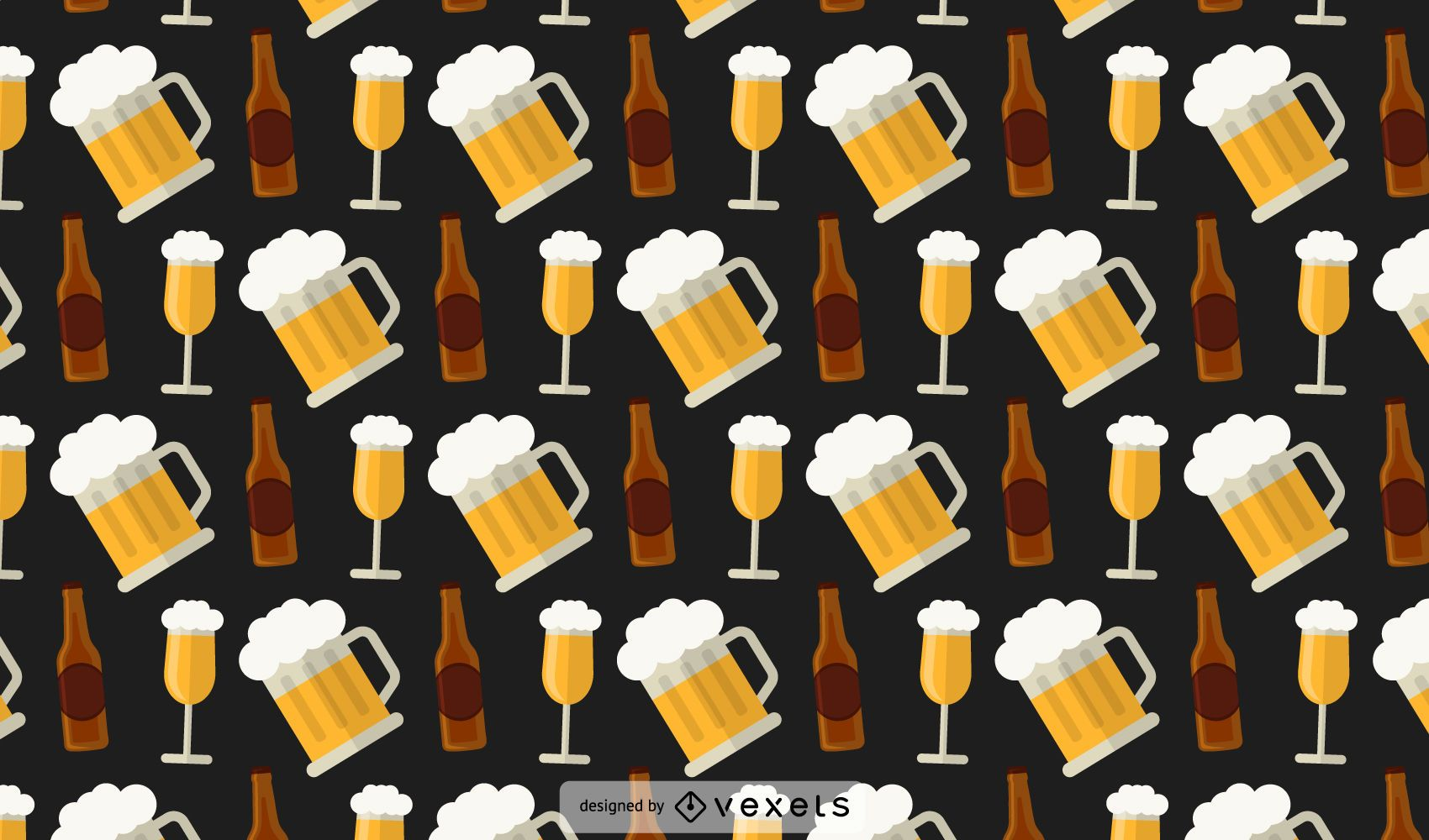 Beer Bottles Pattern