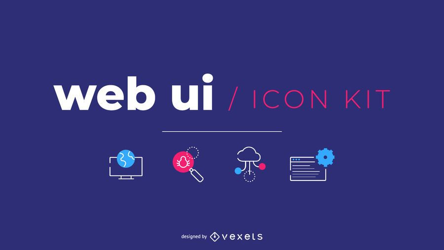 Web UI Kit Freebie for SpyreStudios