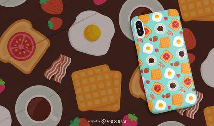 Nahtloses Frühstücksmuster
