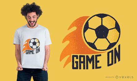 Fußballspiel an