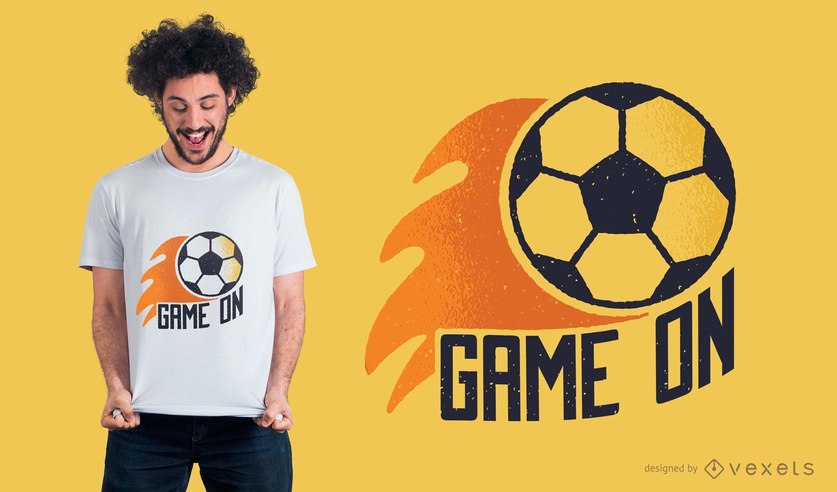 Soccer Game On