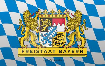 Diseño del Estado Libre de Baviera