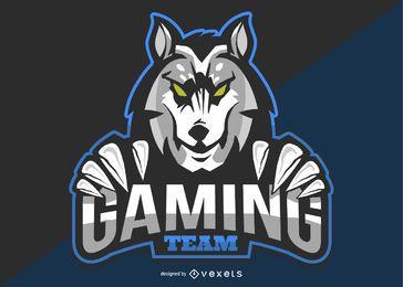 Logotipo da equipe de jogos