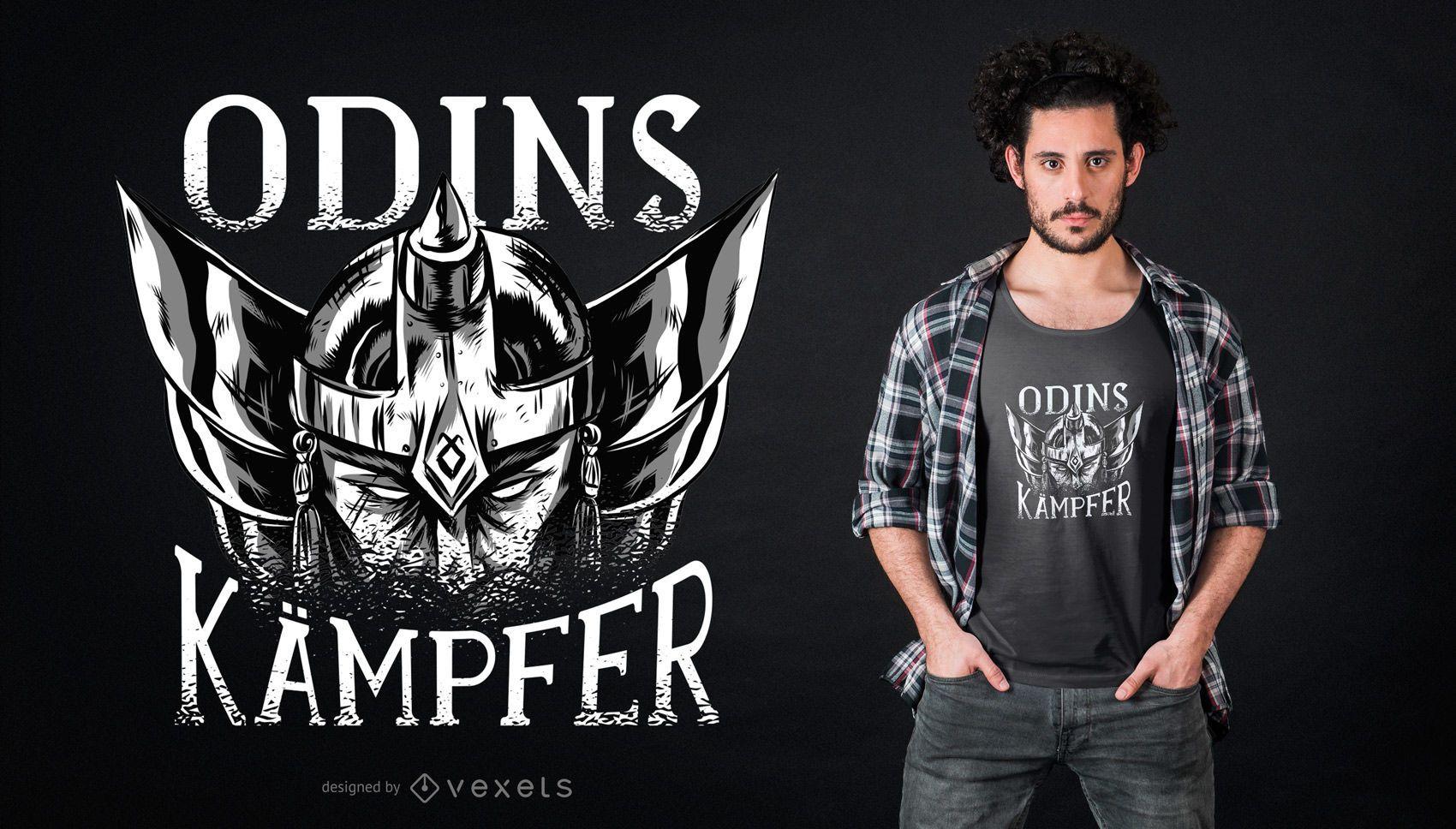 Design alemão de camisetas Viking