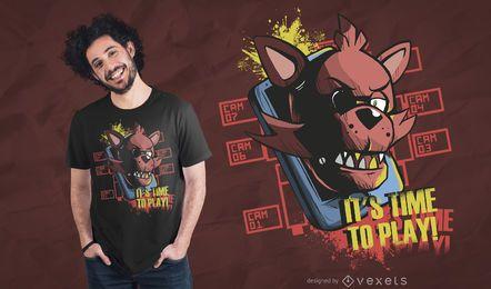 É hora de brincar de design de camisetas