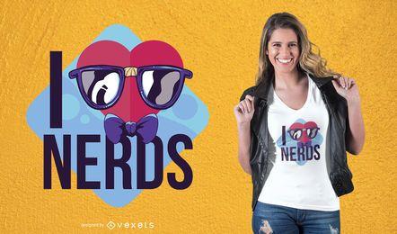 Liebes-Sonderlings-T-Shirt Design