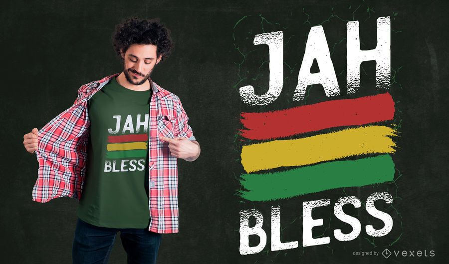 Rasta Quote T-Shirt Design