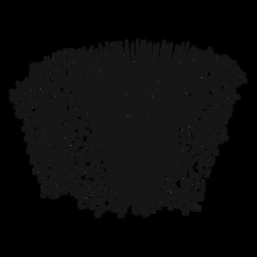 Wirbel des Musikinstrumentes des Akkordeons Transparent PNG