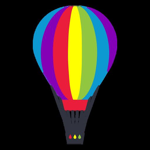 Etiqueta engomada del lgbt del arco iris del globo de aire Transparent PNG