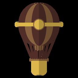 Cuerda de cuerda de globo de aire plana
