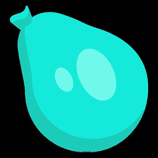 Bag blue sack spot ballon flat Transparent PNG