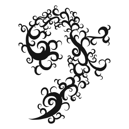 Bass clef musical symbol swirl Transparent PNG