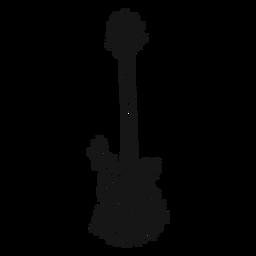 Redemoinho de instrumento musical de guitarra baixo