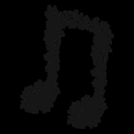 Redemoinho de nota musical Transparent PNG