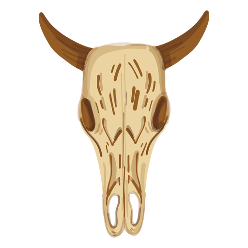 Buffalo skull Transparent PNG