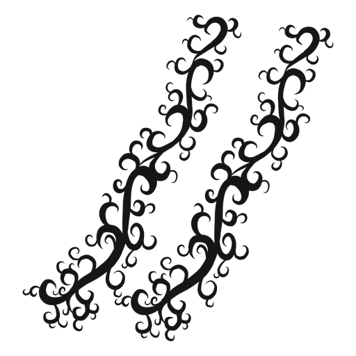 Caesura musical symbol swirl Transparent PNG