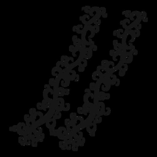Caesura musikalisches Symbol Wirbel Transparent PNG