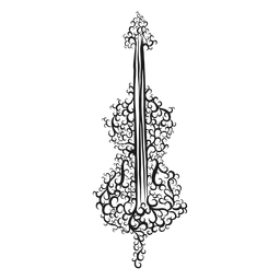 Instrumento musical para violonchelo