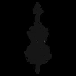 Violoncelo instrumento musical redemoinho