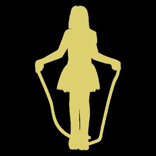 Garota de garoto de criança pulando corda pular corda silhueta de pular corda Transparent PNG