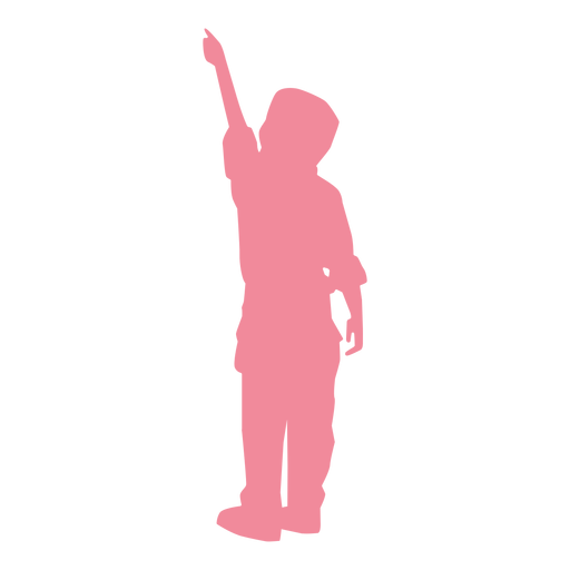 Child kid shirt trousers silhouette Transparent PNG