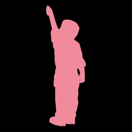 Silhueta de calça criança criança Transparent PNG