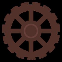 Engrenagem de roda de engrenagem de buraco de roda dentada pinhão plana
