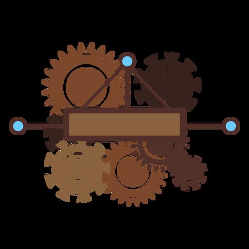 Cogwheel mechanism gear wheel gear pinion flat Transparent PNG