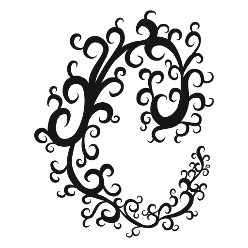 Common time musical symbol swirl Transparent PNG