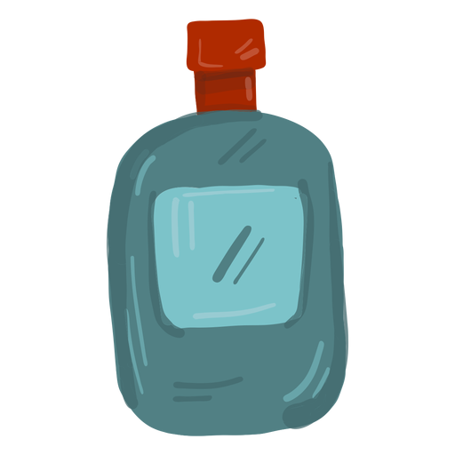 Cowboy flask Transparent PNG